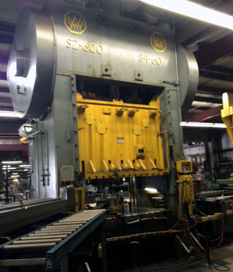 6 ton to 800 ton press